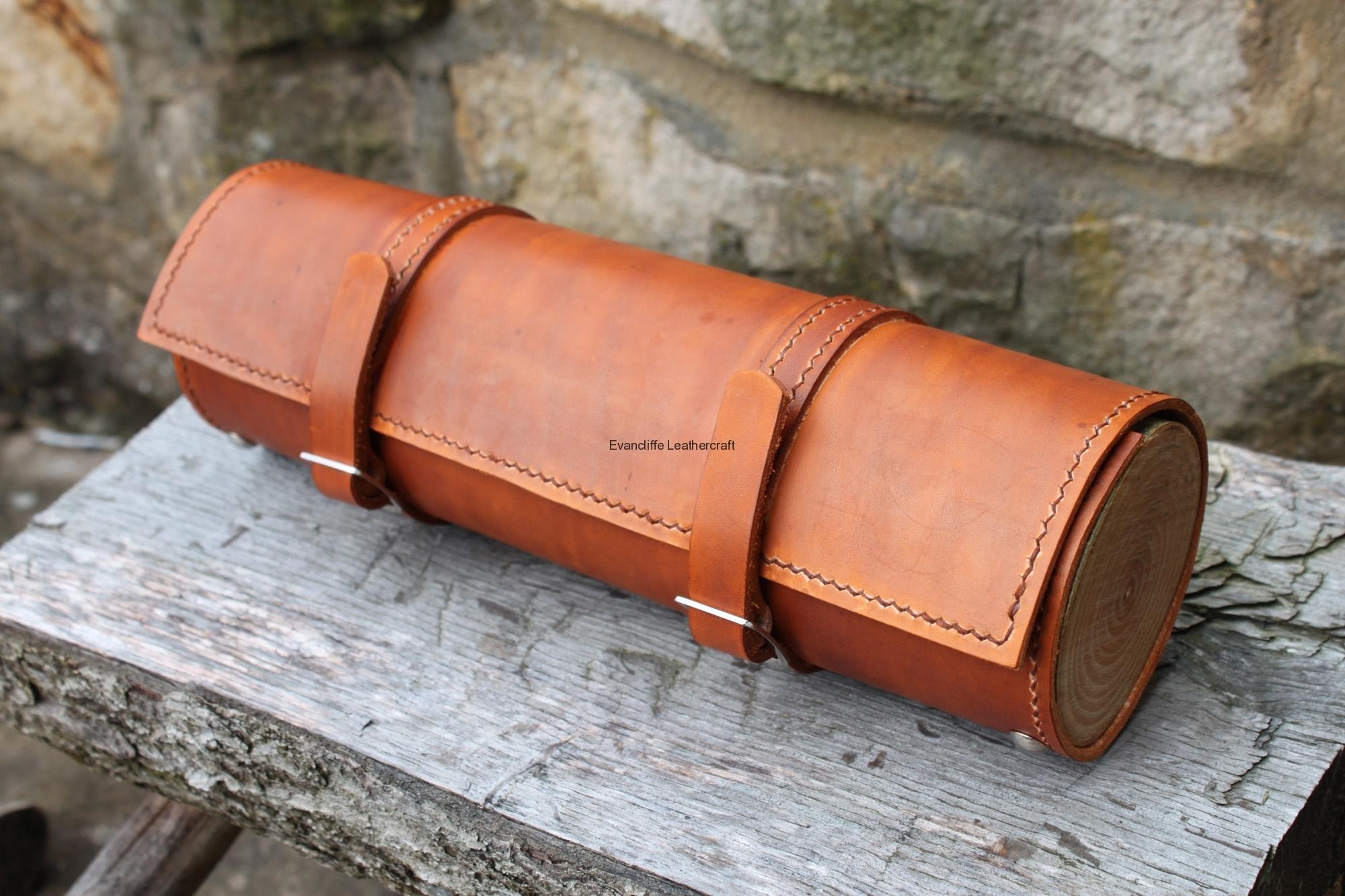 Barrel Bag by Evancliffe Leathercraft