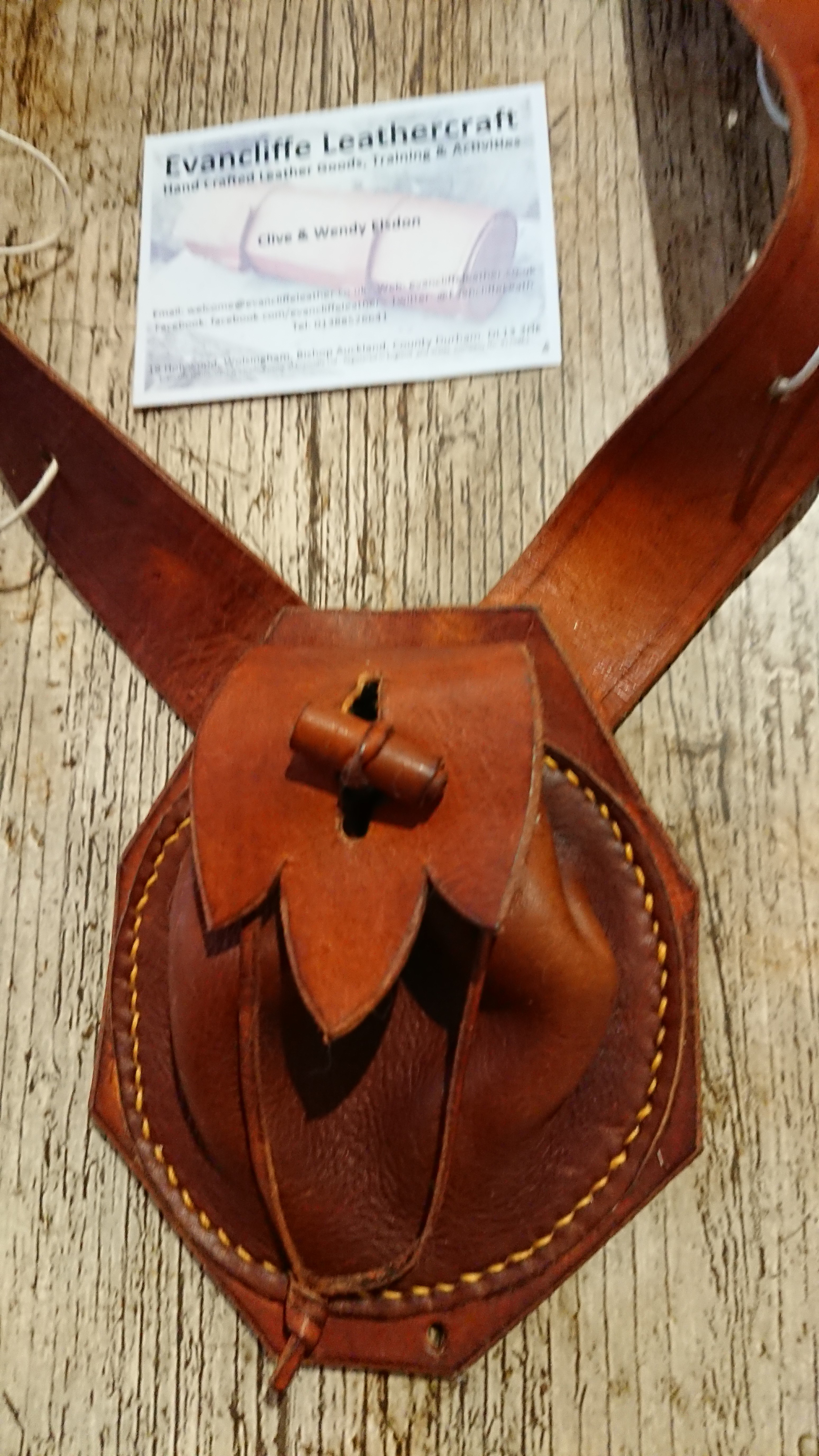 Civil War Musketeer's Bandolier by Evancliffe leathercraft