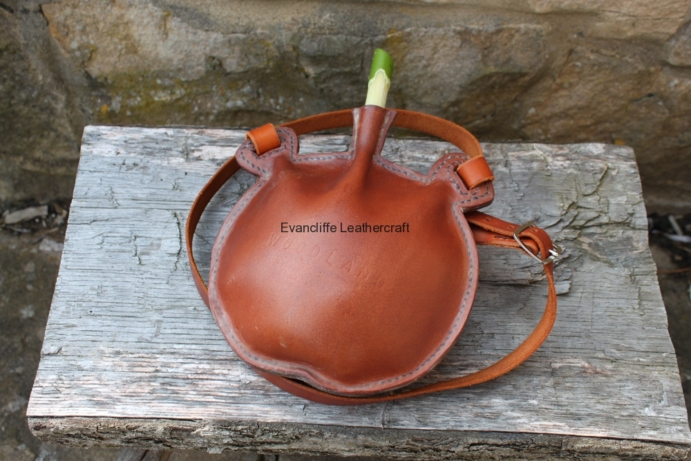 Water Bottle by Evancliffe Leathercraft