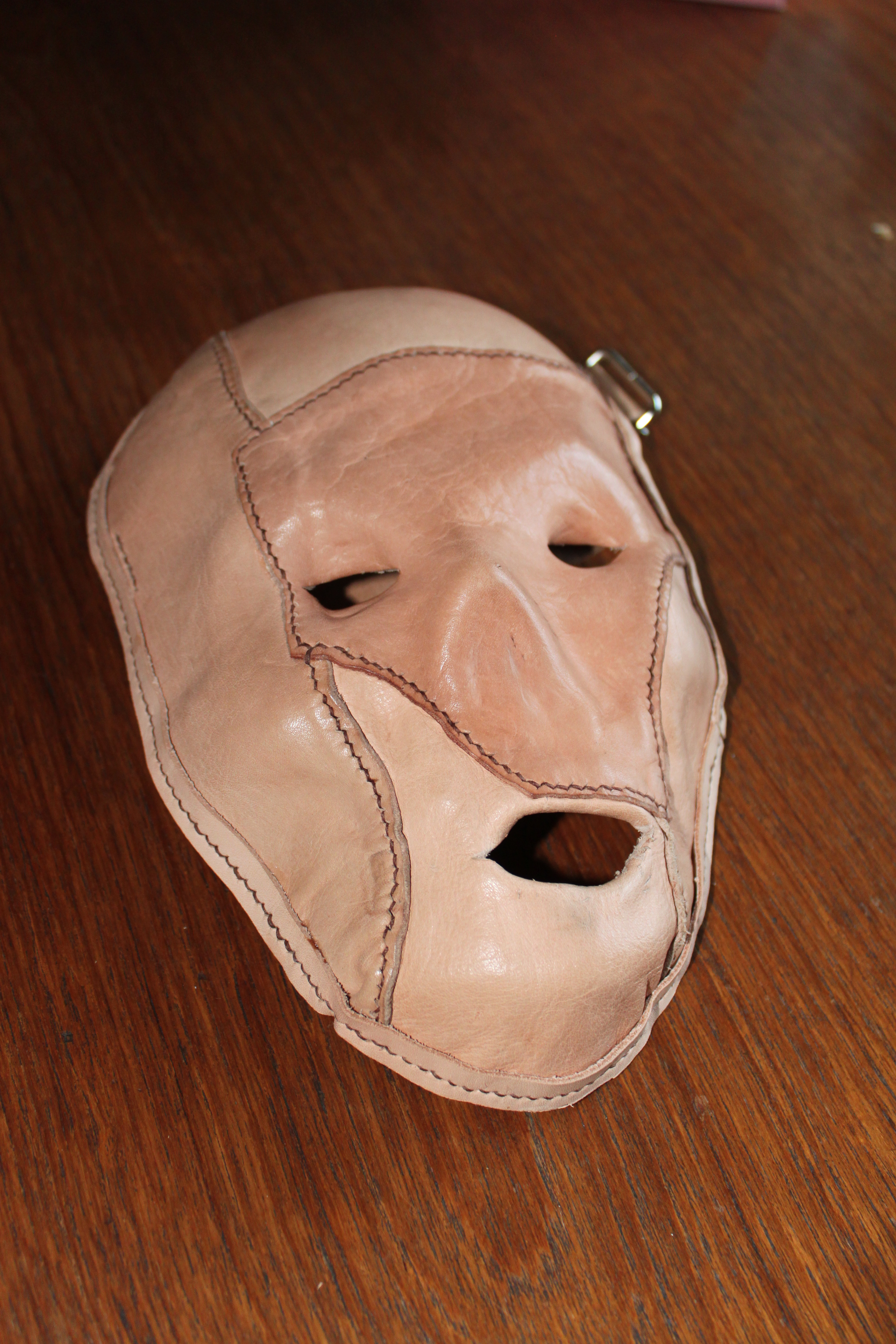 Halloween Horror Mask by Evancliffe Leathercraft