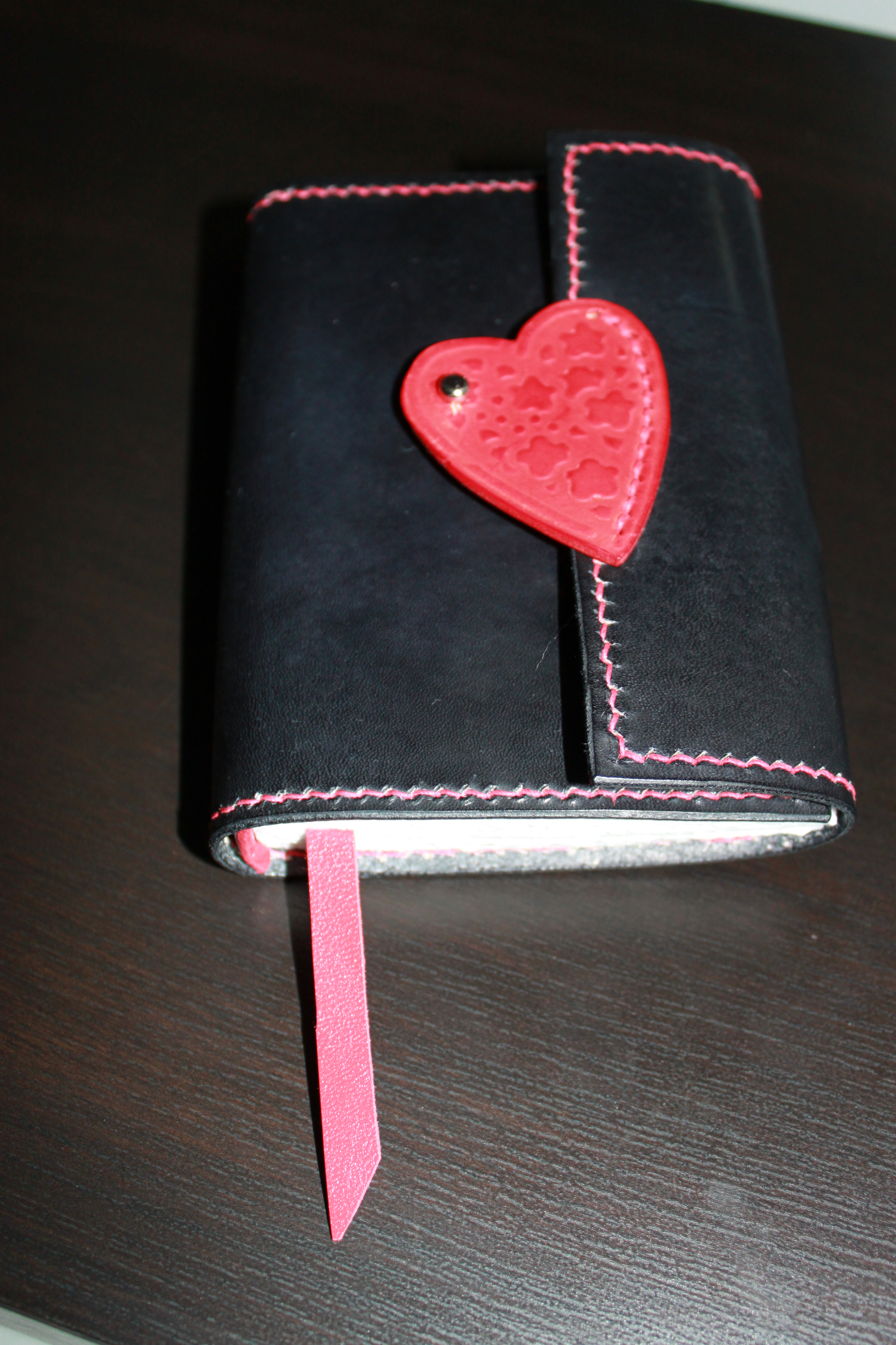 Hand Bound Leather Journal by Evancliffe Leathercraft