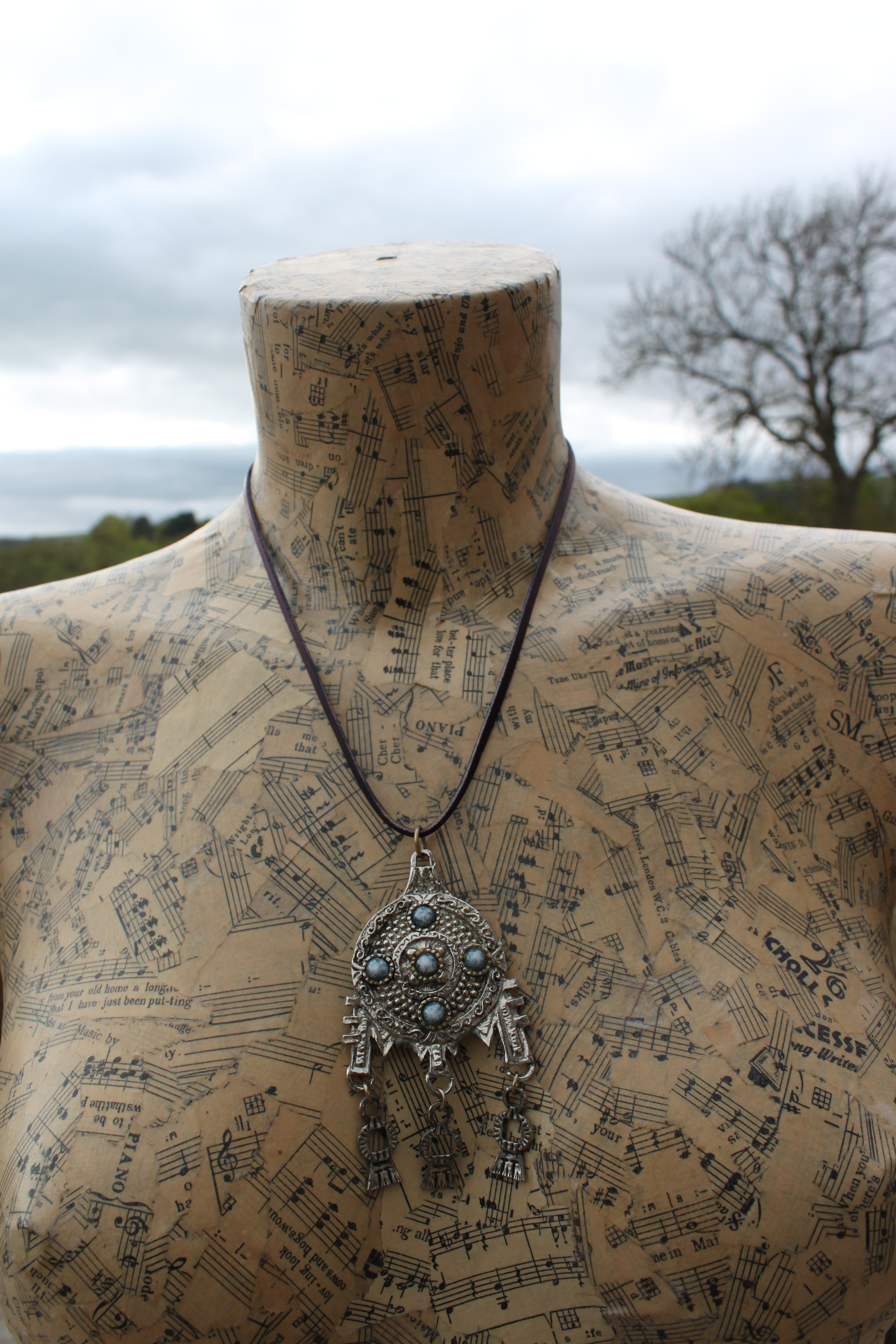 Necklace by Evancliffe Leathercraft