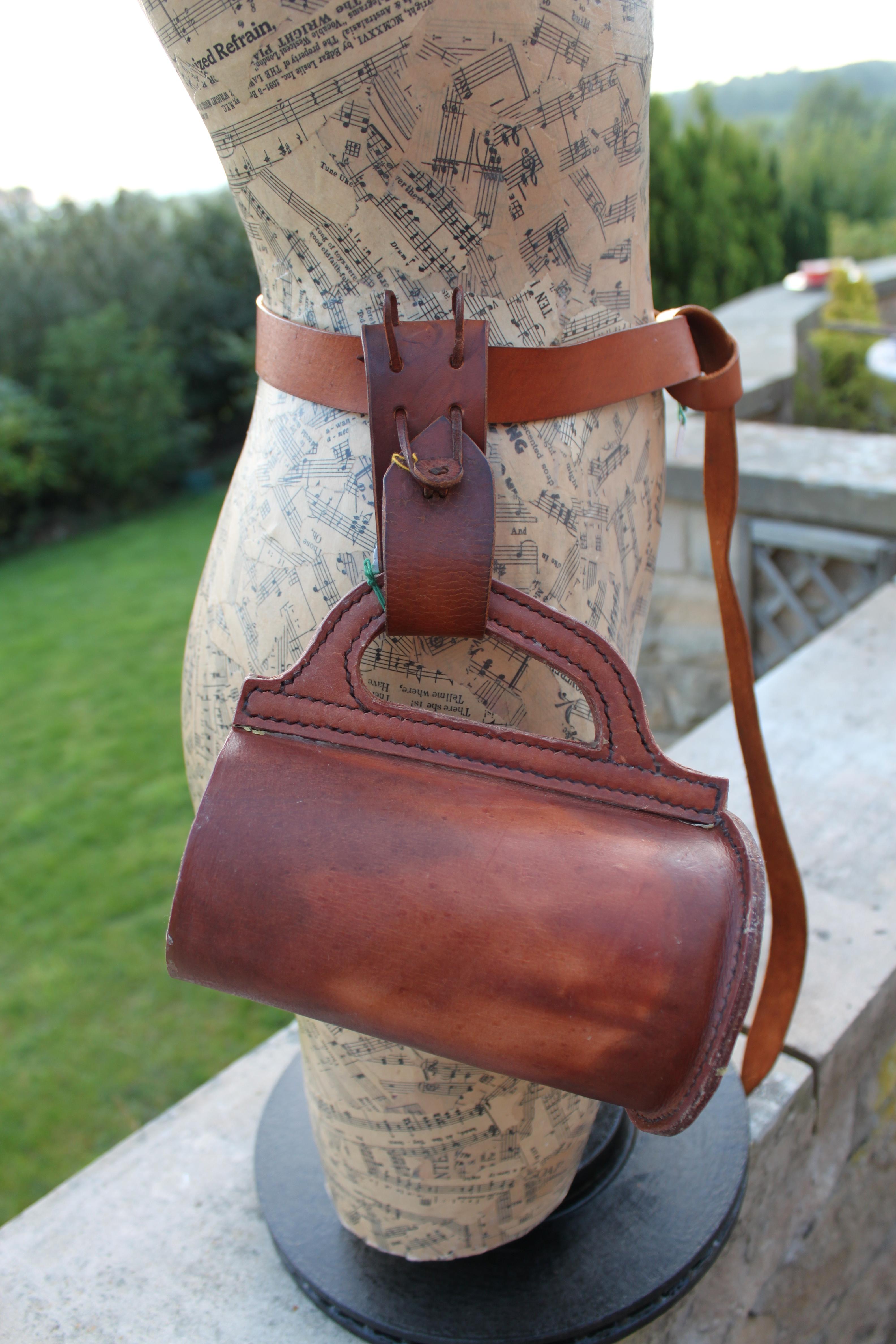 Tankard & Belt Loop by Evancliffe Leathercraft