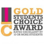 Craftcourses Gold Student Choice Badge