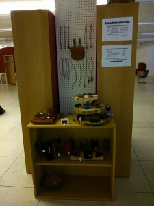 Evancliffe Leathercraft Display at The Po