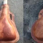 Evancliffe Leathercradft Leather  Waterbottle Workshop