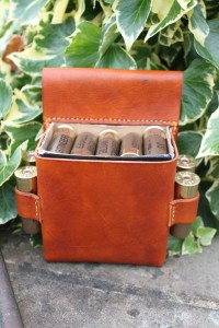 Shotgun Cartridge Holder by Evancliffe Leathercraft