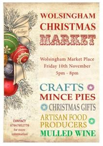 Wolsingham Christmas Market 2017 - 5pm - 8pm