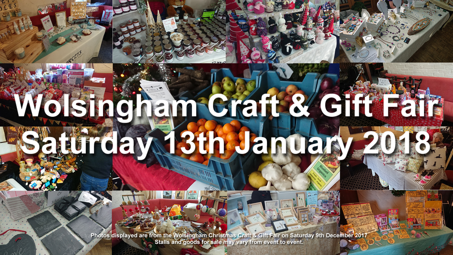 Wolsingham Craft & Gift Fair