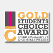 Students Choice Gold Award