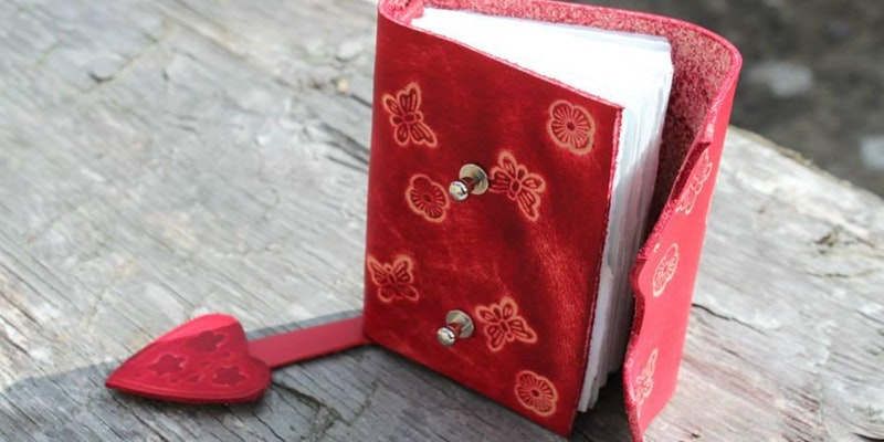 Hand Bound Leather Journal Workshop | Evancliffe Leather