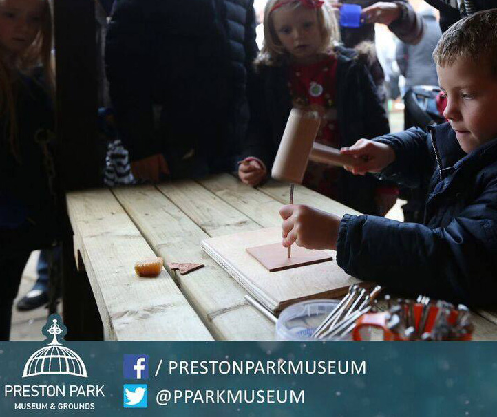 Leather Stamping at Preston Park Museum & Grounds