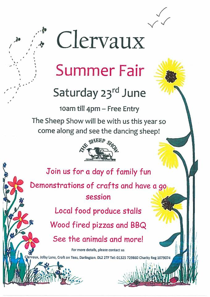Clervaux Trust Summer Fair 2018