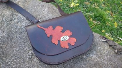 Leaf Bag by Evancliffe Leathercraft