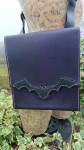 Bat Bag by Evancliffe Leathercraft