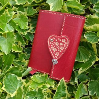 Heart Journal by Evancliffe Leathercraft